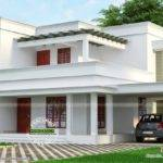But Beautiful Flat Roof House Kerala Home Design Floor Plans