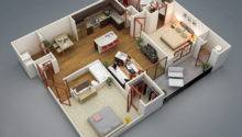 But Not Quite Apartment Feels Open Spacious Layout