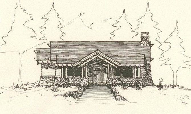 Cabin Drawing Drawings Related Keywords Suggestions
