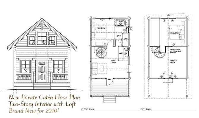 Cabin Floor Plan Loft Pdf Plans
