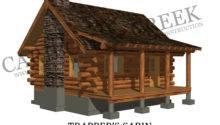 Cabin Floor Plans Historic Log Homemade