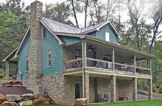 Cabin Floor Plans Walkout Basement Houses