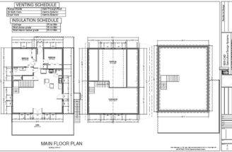 Cabin Loft Plans Package Blueprints Material List