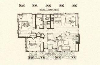 Cabin Plan