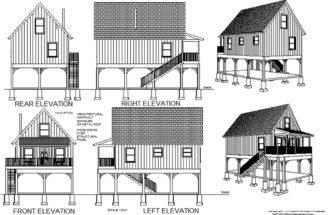 Cabin Plans Blueprints