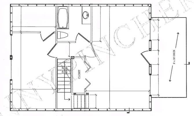 Cabin Plans Building Log Floor Plan