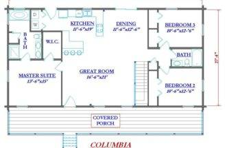 Cabins Floor Plans Cabin Home Small Logs