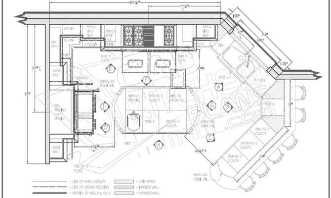 Cad Kitchen Plans