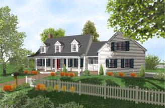 Cape Cod Garage Addition Plans Home