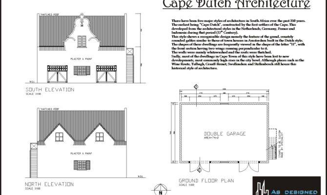Cape Dutch Architecture