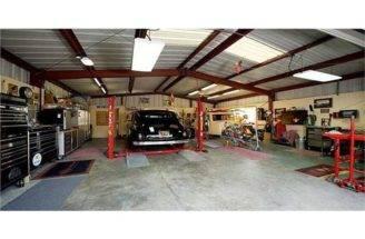 Car Attached Garage Plans Large Six Bay Garages
