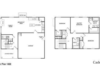Car Garage Floor Plans Alaris Homes Walnut Crossing New