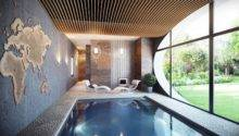 Ceiling Application Home Indoor Spa Arches Over Pool