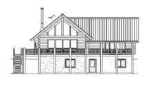Chalet Log Cabin Floor Plans