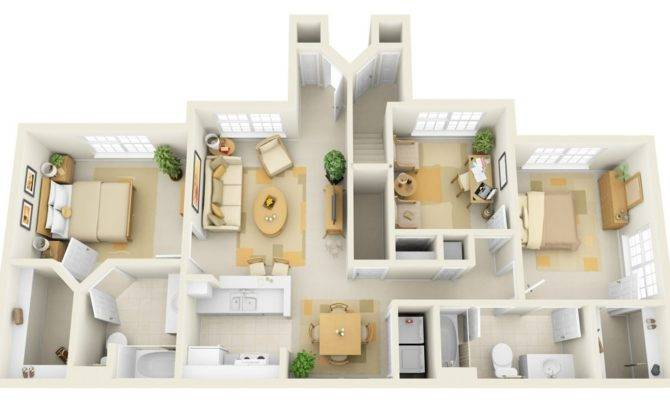 Cheap Bedroom House Plans Interior Design Ideas