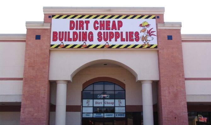 Cheap Building Supplies Locations Dirt