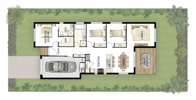 Emejing 3 Bedroom Low Cost House Plans Pictures - 3D house designs ...