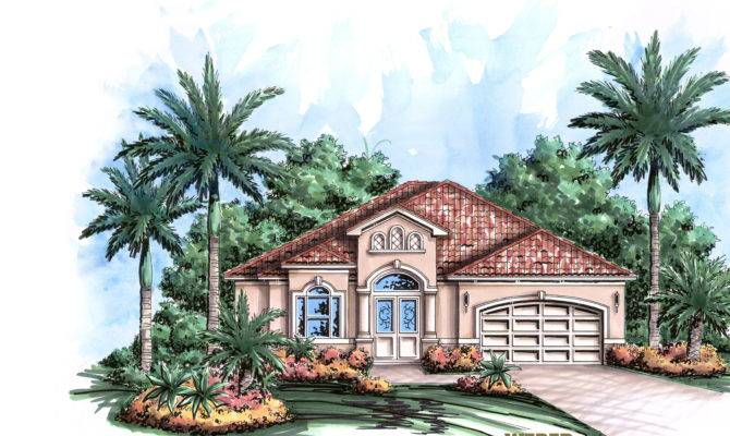 Coastal House Plan Home Floor