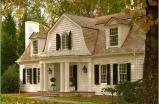 Colonial Homes Magazine Gambrel House Designs Dutch