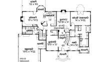 Colonial House Plans Palmary Associated Designs