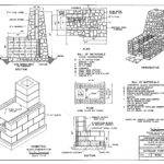 Construction Plan Outdoor Fireplaces Levone