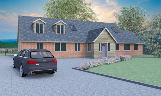 Contemporary Dormer Bungalow Designs Dorstone