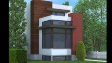 Contemporary House Plans Narrow Lots Lot Home