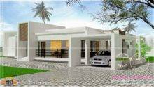 Contemporary Single Storied Luxury Home Kerala Design Floor