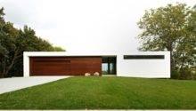 Contemporary Stucco Wood House