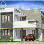 Contemporary Villa Design Kerala Home Floor
