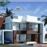 Contemporary Villa Kerala Home Design Floor Plans