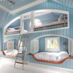 Cool Bedroom Ideas Teenage Girls Blue Bunk Beds Multidao