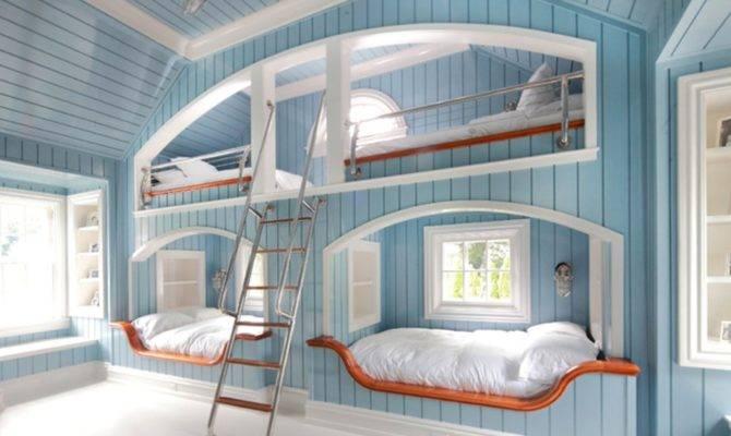 Cool Bedroom Ideas Teenage Girls Blue Bunk Beds Multidao