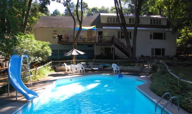 Cool House Nice Pool Elegant Style Decorating Ideas