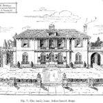 Cool Mansion Drawing Italian Spanish House