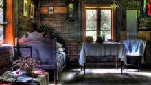 Cottage Interiors Antique Bed