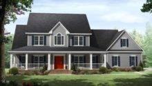 Country Beauty Wrap Around Porches Maverick Custom Homes