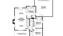 Country House Plan Lockhart Floor