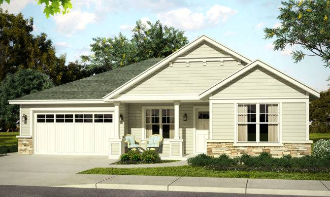 Country House Plan Ranch Home New