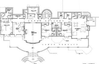 Country Manor House Plans