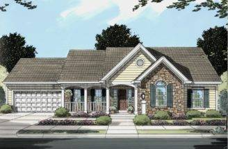 Country Style Pre Drawn House Plans