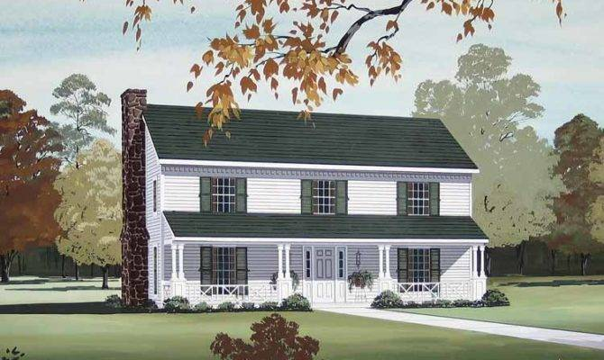 Country Style Two Story