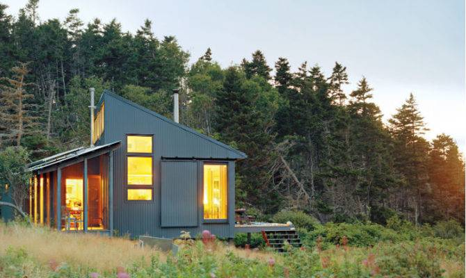 Cozy Cabins Porter Cabin Inhabitat Green Design Innovation