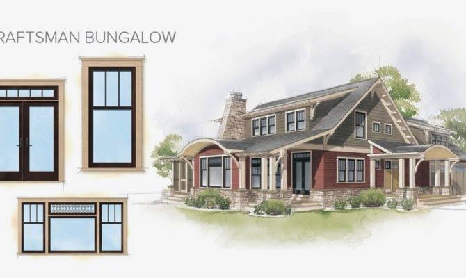 Craftsman Bungalow Home Style Window Door Overview Versus