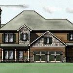 Craftsman Bungalow Style House Plan Garage