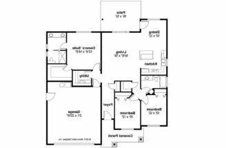 Craftsman House Plan Camas Floor