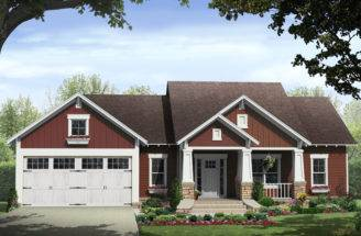 Craftsman House Plan Front Home Plans More