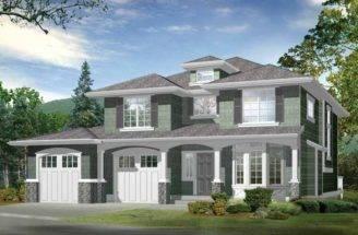 Craftsman House Plans Basement Cachedjan Hillside Plan