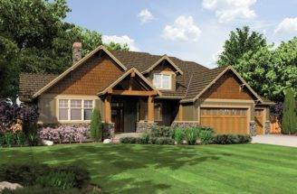 Craftsman Style Homes One Story Cottage House