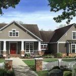 Craftsman Style House Plan Beds Baths Exterior